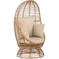 John Lewis & Partners Cabana Swivel Pod Garden Chair