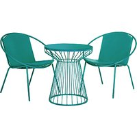 House by John Lewis Porto Bistro Outdoor Table and Chairs Set