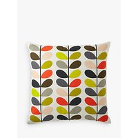 Orla Kiely Linear Stem Cushion, Multi