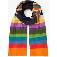 Paul Smith Rainbow Stripe Scarf, Multi