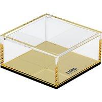 Lund London Flash Lidded Box, Gold