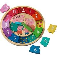 Peppa Pig Wooden Clock