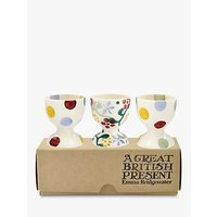 Emma Bridgewater Spring Floral Egg Cups, White/Multi, Set of 3