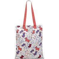 Radley Speckle Dog Canvas Medium Tote Bag, Natural