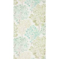 John Lewis Leckford Trees Wallpaper, Green