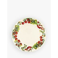 Emma Bridgewater Vegetable Garden Tomato 10.5 Plate, White/Multi, Dia.27.5cm