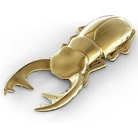 Fred Beetle Bottle Opener, Gold