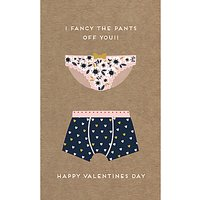 Art File Fancy The Pants Off You Valentine's Day Card
