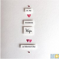 Blue Eyed Sun Wife Valentine's Day Card
