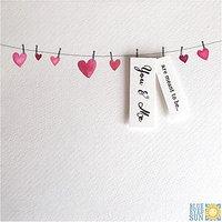 Blue Eyed Sun Valentine's Day Card