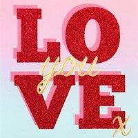 Caroline Gardner Palm Springs Love Valentine's Day Card