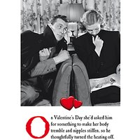 Emotional Rescue Tremble Valentine's Day Card