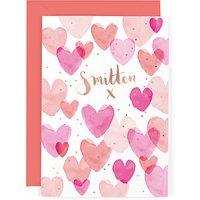 Hotchpotch Layered Hearts Valentine's Day Card