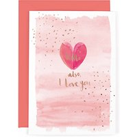 Hotchpotch Heart Hello Valentine's Day Card