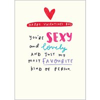 Pigment Favourite Kind Of Person Valentine's Day Card