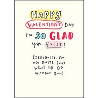 Pigment So Glad You Exist Valentine's Day Card
