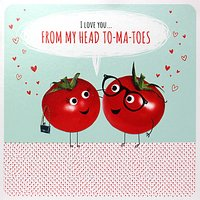 Paperlink Tomatoes Valentine's Day Card