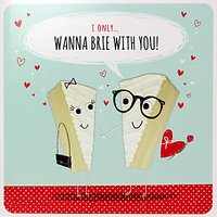 Paperlink Brie With You Valentine's Day Card