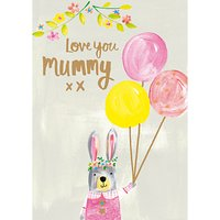 Paper Salad Love You Mummy Mother's Day Card