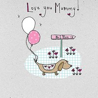 Saffron Cards And Gifts Sausage Dog Mother's Day Card