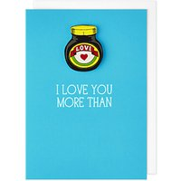 Tache Crafts More Than Marmite Valentine's Day Card