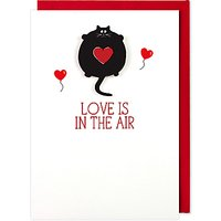 Tache Crafts Love Is In The Air Valentine's Day Card