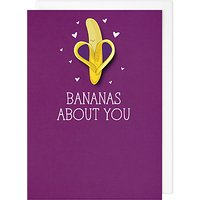 Tache Crafts Bananas About You Valentine's Day Card