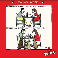 Cardmix Intimate Dinner Valentine's Day Card
