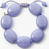 Lola Rose Sally Oval Bracelet, Blue Quartzite