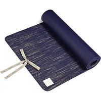 M Life Linen 5mm Yoga Mat, Indigo