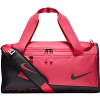 Nike Children's Alpha Training Duffel Bag, Pink/Black