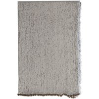French Connection Double Faced Metallic Scarf, Smokey