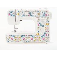 John Lewis & Partners JL111 Daisy Chain Print Sewing Machine, White/Multi
