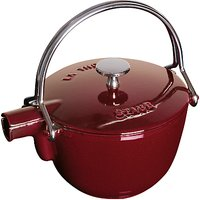 STAUB Cast Iron 5 Cup Teapot and Serving Pot, 1.1L