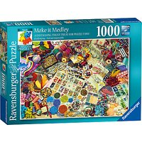 Ravensburger Make It Medley Jigsaw Puzzle, 1000 Pieces
