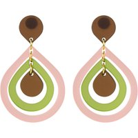 Toolally Pear Drop Earrings