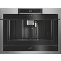 AEG Mastery KKE884500M Built In Bean to Cup Coffee Machine - Stainless Steel