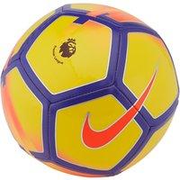Nike Premier League Pitch Football, Size 5, Yellow/Purple/Crimson