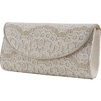 Rainbow Club Laurel Clutch Bag, Ivory