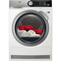 AEG T8DEA866C 8000 Series Heat Pump Tumble Dryer, 8kg Load, A+++ Energy Rating, White
