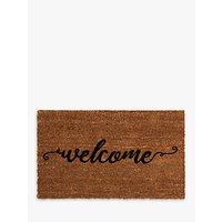 John Lewis Welcome Doormat, Multi