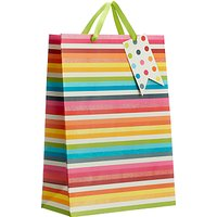 John Lewis & Partners Multicoloured Gift Bag