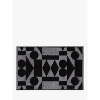 PATTERNITY + John Lewis Reflect Organic Cotton Bath Mat, Black/White