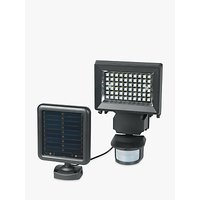 Duracell Solar LED Sensor Security Outdoor Wall Light, Black