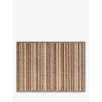 Turtle Mat Sandstone Stripe Doormat, Brown/Beige