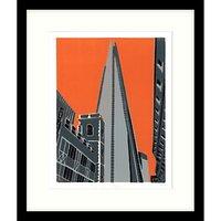 Jennie Ing - The Shard Framed Print, 54 x 64cm