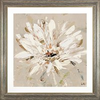 Adelene Fletcher - Natures First White Floral Framed Print, 93 x 93cm