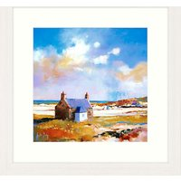 Kate Philip - Two Little Boats Framed Print, 57 x 57cm
