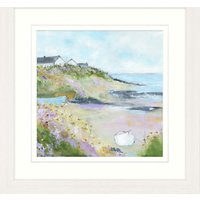 Sue Fenlon - Beach House Framed Print, 57 x 57cm