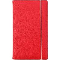 Caroline Gardner Metallics Travel Wallet, Red